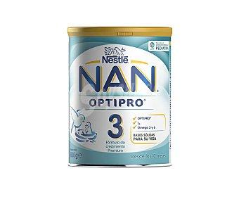 Nan Nestlé Leche Infantil 3 con probióticos y 13 vitaminas, a partir de los 12 meses Expert 800 Gramos