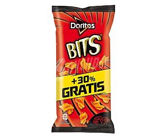 Matutano Bits twisties barbacoa (producto de aperitivo de maíz frito con sabor a barbacoa) Bolsa de 95 gramos