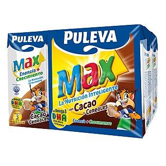 Puleva Leche Energía-Crecim. con Cereales-Cacao Pack 6x200 ml