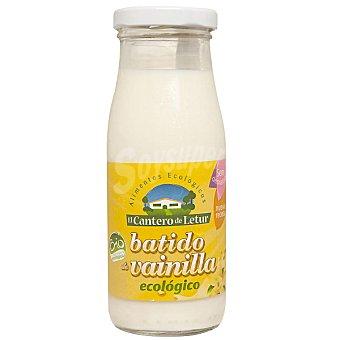 El Cantero de Letur Batido de vainilla procedente de ganadería ecológica Botella 250 ml