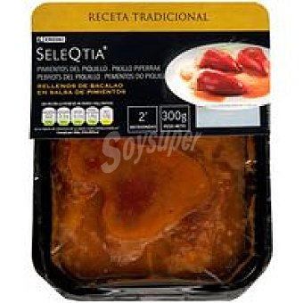 Eroski Seleqtia Pimientos rellenos de bacalao Bandeja 300 g