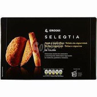 Eroski Seleqtia Tejas-cigarrillos Eroski Caja 200 g