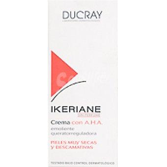 Ducray Ikeriane Crema Emoliente Queratorreductora. Hidrata y Elimina las Escamas de las Pieles Secas. Tubo 150 ml