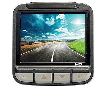 """QILIVE Q2853 Cámara para coche con accesorios para sujeción de coche con pantalla de 2,4"""", 16MP y grabación de video en alta definición"""