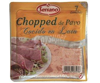Carnicas Serrano Chopped pavo Lata de 150 Gramos