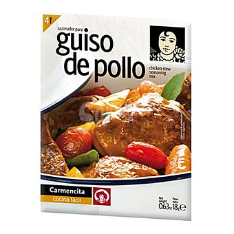 Carmencita Sazonador Guiso de pollo 18 g