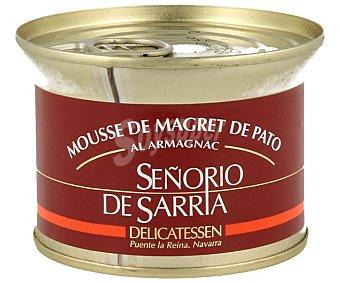 Señorio de Sarria Mousse de magret al armagnac, 130 gramos
