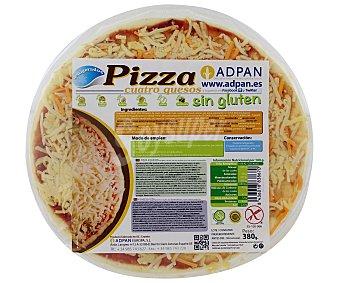 Adpan Pizza 4 quesos sin gluten 380 Gramos