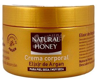 Natural Honey Crema corporal Elixir de Argan para piel seca / muy seca tarro 250 ml Tarro 250 ml