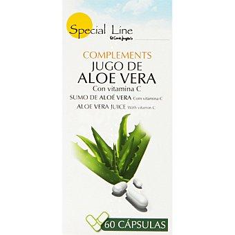 Special Line Jugo de aloe vera con vitamina C ápsulas Envase 60 c