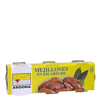 Ardora Mejillones en escabeche 3 latas de 43 g