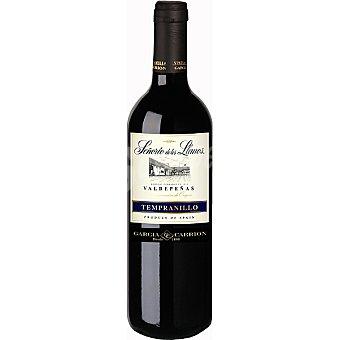 Señorio de Los Llanos Vino joven tempranillo D.O. Valdepeñas Botella 75 cl