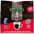 Café molido mezcla Paquete 16 monodosis Baqué
