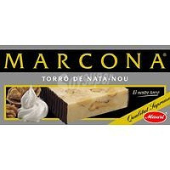 Marcona Turrón de nata-nueces Caja 300 g