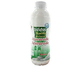 Auchan Yogur con bifidus liquido natural azucarado 750 gramos