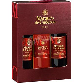 Rioja Vino tinto crianza D.O. Rioja + vino rosado D.O Estuche 2 botellas 75 cl