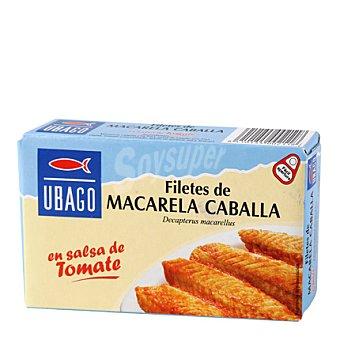 Ubago Filete de caballa con tomate Lata 85 g