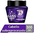 Mascarilla cabello reparador fiber therapy con omegaplex y keratina Bote 300 ml Gliss Schwarzkopf