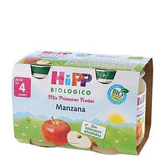 HiPP Biológico Tarrito de Puré de Manzana Bio Sin Gluten Pack 2x125 g