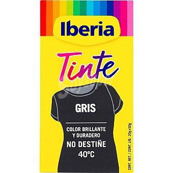 Iberia Tinte para ropa cambia el color gris caja 2 sobres