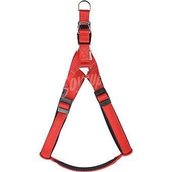 FERPLAST Petral para perro forrado modelo daytona color rojo extra largo 1 unidad 1 unidad