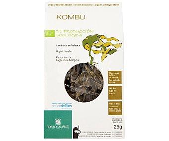 Porto Muiños Kombu (algas) deshidratado ecológico 25 gramos