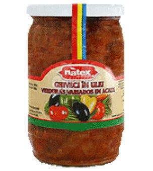 Ghiveci Verduras variadas en aceite 530 g