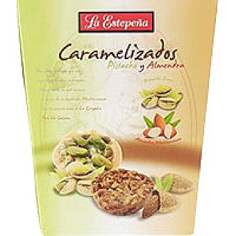La Estepeña Caramelizado de pistachos-almedras Caja 125 g