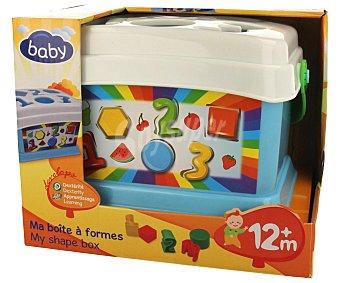 Baby Juguete de encajables con diferentes formas y colores 1 unidad