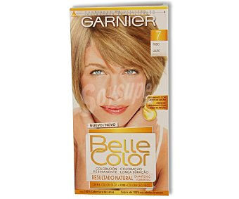 Belle Color Garnier Tinte de pelo color rubio, tono 007 Belle color