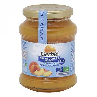 Gerblé Mermelada melocoton s/a Frasco 380 gramos