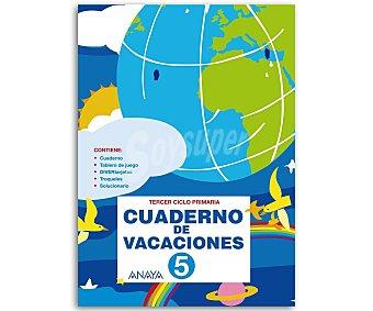 ANAYA Cuaderno Vacaciones 5º 1 Unidad