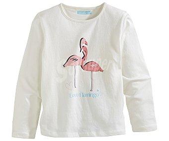 In Extenso Pijama largo para niña, color crudo, talla 2