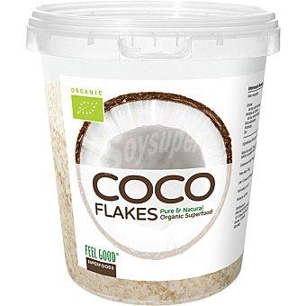 FEEL GOOD Superfood copos de coco ecológicos ricos en fibra y minerales envase 400 g