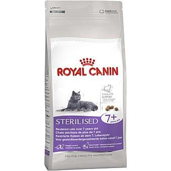 Royal Canin Sterilised + 7 pienso especial para gatos adultos esterilizados de +7 años con tendencia al sobrepeso Bolsa 1,5 kg