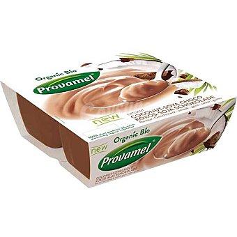 Santiveri Postre de soja sabor coco con chocolate Provamel Bio 4 unidades de 125 g