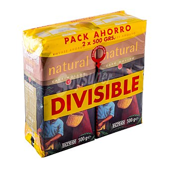 Hacendado Cafe molido natural Nº 1 (suave Y aromatico) Paquete pack 2 x 500 g - 1 kg