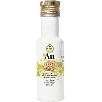 AU aceite de oliva virgen extra aromático para pizza  botella 125 ml