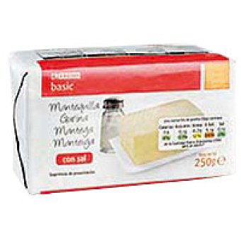 Eroski Basic Mantequilla con sal 250g