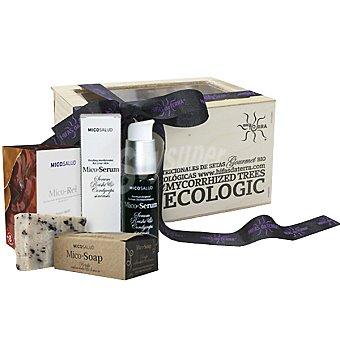 HIFAS DA TERRA Mico-Serum con jabón y mico reishi pack ecológico 450 g pack 450