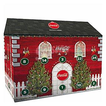 Coca-Cola Zero Refresco cola zero azúcares sin cafeína Pack 15 x 33 cl
