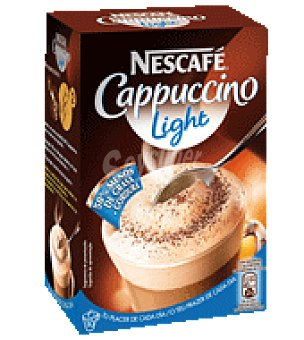 Nescafé Cafe cappuccino light sobres 125 g