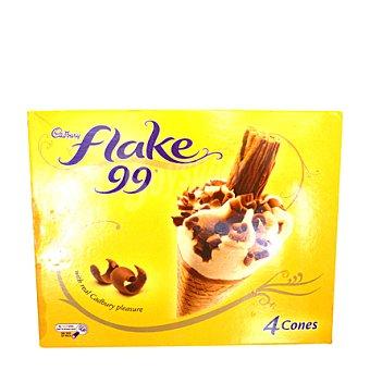 Frico Dan Helado de cono Pack de 4x125 ml
