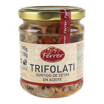 Ferrer Trifolati surtido de setas Tarro 190 g peso neto escurrido