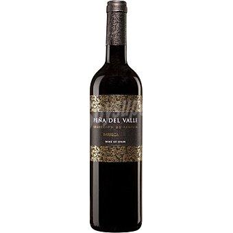 PEÑA DEL VALLE Vino tinto barrica de Extremadura Botella 75 cl