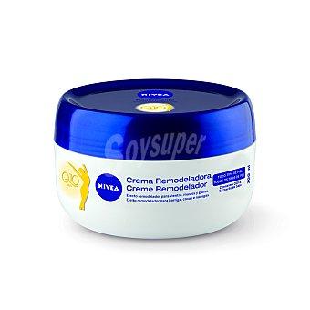 Nivea Crema remodeladora Q10 plus para vientre muslos y gluteos Tarro 300 ml