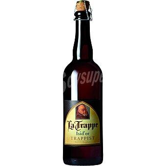 LA TRAPPE ISID'OR cerveza rubia holandesa traprense  botella 75 cl