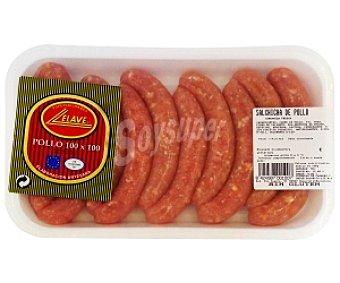 ELAVE Salchichas de Pollo Bandeja 10 Unidades (320 Gramos)