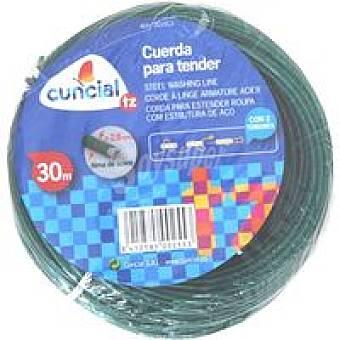 Cuncial Cuerda Tendedero Acero 30m 1u