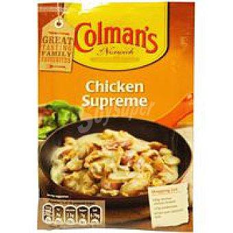 Colmans Salsa de pollo supreme Sobre 40 g